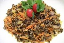 Wild Rice Recipes From the Moose Lake Wild Rice Kitchen / Interesting and healthy recipes using Minnesota grown Moose Lake Wild Rice.