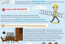 6 TIPS TO HELP AVOID GETTING RIPPED OFF WHEN RENOVATING / Stories of homeowners getting ripped off by contractors and home renovation companies are always on the news.  We constantly hear stories about contractors who didn't do what they said they would do, did terrible work or didn't finish the job at all.  If you've decided to leave your next major home improvement project to a professional contractor or reno company, make sure you follow these tips before anyone starts swinging a hammer.