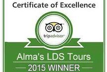 Satisfied Customers / Real people having a great time with Alma's LDS Tours