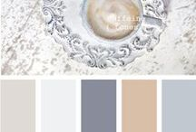 Color Your World   Paints & Patterns / Some of our favorite paint colors and wallpapers!