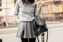 A/W Style Inspiration / Autumn/Winter outfits and accessories for effortless but chic style.