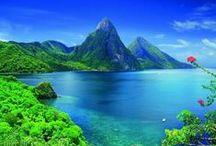 ISLAND, BEACH & OCEAN