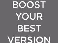 Boost your best version / Vous aider à devenir la meilleure version de vous-même. Ensemble, nous trouverons le rouges à lèvres qui met encore plus en valeur votre magnifique bouche, la crème de jour qui fait ressortir votre éclat intérieur et le parfum qui vous donne un coup de boost à chaque pschitt. Arborez votre confiance en vous avec style !