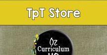 Oz Curriculum HQ TpT Store