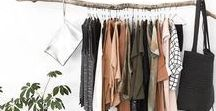 Wardrobe / I'm trying to cut down on purchasing too many clothes so I'm trying to build a capsule wardrobe. I'm aiming for a minimalist style and pinning open closet/clothes stand/open wardrobe ideas. Also sharing ideas on how to find your signature style.