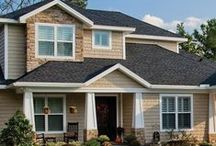 Specialty Siding / Gentek's Specialty - Shakes and Scallops and other Accent siding