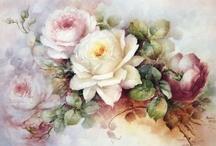 ~Vintage Flower Printables~ / Vintage printable flower images