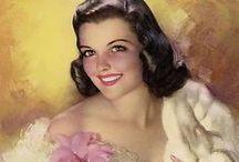 ~Vintage Ladies~ / Vintage printable ladies images