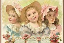~Vintage Children~ / Beautiful vintage children images / by Inger Harding