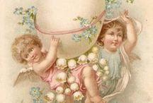 ~Vintage Easter Printables~