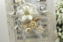 ~FLOWER Cards~ / Beautiful card using pretty flowers