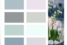 ~My COLOR Palettes~ / Color Palettes made by Inger Harding for my Interior blog Homes and Roses