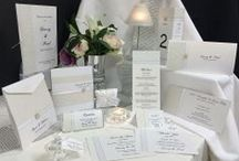 Grand Affair / Looking for a fabulous white wedding invitation.  Our Grand Affair story offers a whole stationery range and has just the right amount of bling. #whitewedding #whiteinvitation