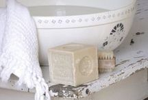 ~White Washed~ / Shabby chic, colour washed rooms and furniture