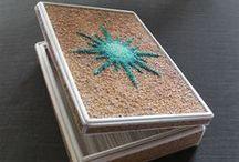 mosaic boxes by Kuumba Libre / handmade mosaic boxes