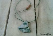 ceramic necklaces by Kuumba Libre / handmade ceramic necklaces