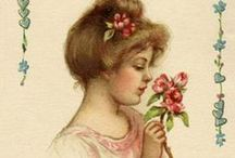 ~Vintage Valentines~ / Vintage valentines images - printables - DIY