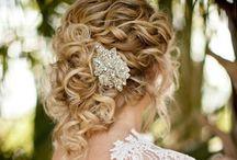 Coiffure de mariée / Idées coiffures de mariées