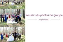 Photos de groupe / Idées photos de groupes originales mariage