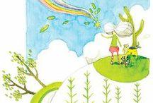 無蔵 Wu-Tsang / 童話風のイラストを施されたパッケージがそれぞれのお茶の物語を表します。