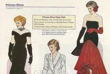kongelige påklædningsdukker
