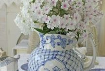 ~Blue & White~ / Everything blue and white - Pretty blue and white items