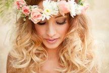 Bridal Hair / hair ideas for every bride and every season
