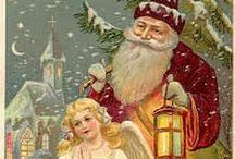 ~Vintage Santas~ / Vintage Santas printables for your craft projects
