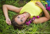 Love is in the Hair / Perfect hairstyles for senior portraits, homecoming, prom, and beyond!