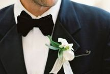 Here Comes the Groom / Let's make sure that the groom looks as good as the bride on his big day too! We've pulled a collection of or favorite groom outfits, suits for the groom, wedding suits, groomsmen attire, and mens wedding accessories for you!