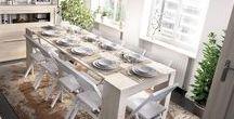 MESAS / Mesas de comedor y mesas de centro.Diseño con la mejor relación calidad/precio. Gran variedad de acabados que irán acorde con tu salón o comedor.