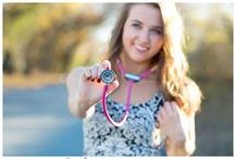 Props + Accessories / Necklaces, bracelets, scarves, letterman jackets, props...these are the finishing touches that will make your senior portraits pop!