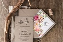 Save the Dates & Wedding Invitations / So, he's proposed, and you've set the date, but how are you going to tell everyone? We've got a collection of our favorite wedding invitations fort every taste and save the date ideas to help you plan your wedding invites!