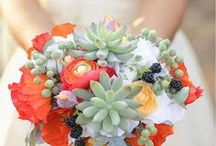 """Beautiful Wedding Bouquets / Who doesn't love flowers!? We've """"picked"""" our favorite bridal wedding bouquets and floral arrangements to help you choose the wedding flowers that are perfect for your big day!"""