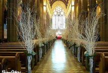 Bancs/chaises de cérémonie (religieuse ou laïque) / Idées et inspirations pour une décoration les bancs ou les chaises de votre cérémonie