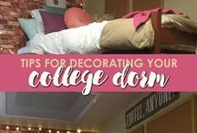Dorm Room Dreaming / Design inspirations for your home away from home!
