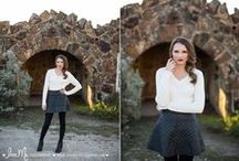 Style: Winter Shoot / Fashion-spiration for winter senior sessions!