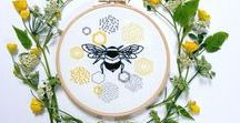 Mollie Makes Handmade Awards 2018 / Established Business Award Entry. I'm Jenny Blair and I sell modern Embroidery and Sewing kits which are infused with colour and inspired by nature. My aim is to share the simple joy of stitching and create designs worthy of the wall and not the overstuffed craft drawer. All aspects of the kits are designed and assembled by my self in my home attic studio based in rural Scotland. I also lead various workshops where creativity is encouraged through stitching.
