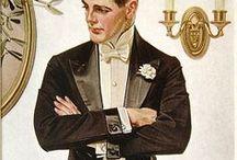 ~Vintage Gentlemen~ / Vintage printable gentlemen images.