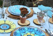 Summer entertaining / Colorful dinnerware that is perfect for indoor and outdoor entertaining. plateshoppe.com