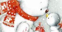 ~Sweet Christmas Images~ / Sweet christmas images for crafts and DIY