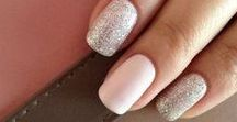 Nail Design Inspiration / Nail color and design ideas for your wedding, prom, etc!