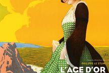 Age d'or de l'affiche touristique en Bretagne / Catalogue édité chez Locus solus.