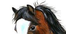 Pet Portraits / Pet portraits.  Dogs, cats and horses in watercolors, pencils, acrylics and oil paints.