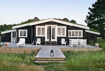 House by the Water... / Beach or Summer house whether it is in Maine, the Hamptons, California, or the Mediterranean.