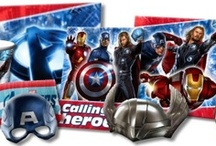 Avengers Party Supplies / Avengers Party Supplies from www.HardToFindPartySupplies.com, where we specialize in rare, discontinued, and hard to find party supplies. We also carry several of the more recent party lines.  / by Hard To Find Party Supplies