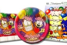Garfield Birthday Party Ideas, Decorations, and Supplies / Garfield Party Supplies from www.HardToFindPartySupplies.com, where we specialize in rare, discontinued, and hard to find party supplies. We also carry several of the more recent party lines.