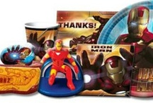 Iron Man Birthday Party Ideas, Decorations, and Supplies / Iron Man Party Supplies from www.HardToFindPartySupplies.com, where we specialize in rare, discontinued, and hard to find party supplies. We also carry several of the more recent party lines.