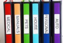 Get organized! / by Paula Davis