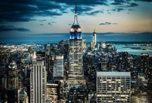 New York City / The city that never sleeps. / by Bianca
